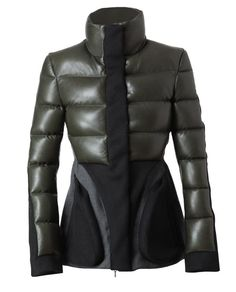 Wool and Leather Padded Jacket by PEDRO LOURENCO at Browns Fashion for £2,600.00