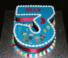 Number  Birthday Cake Birthday Cakes Birthdays And Cake - 3 birthday cake
