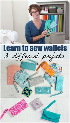 100 Brilliant Projects to Upcycle Leftover Fabric Scraps - Rab Fabric Purses, Fabric Scraps, Bag Patterns To Sew, Sewing Patterns Free, Sewing Hacks, Sewing Tutorials, Sewing Tips, Video Tutorials, Wallet Sewing Pattern