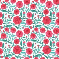 Papel de Parede Floral 1709
