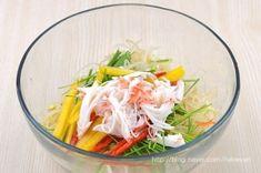 콩나물무침 (콩나물샐러드)~ 이색콩나물무침, 콩나물요리 : 네이버 블로그 Sushi, Cabbage, Appetizers, Baking, Vegetables, Recipes, Food, Food Food, Cooking