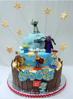 toy story party! ps- has anyone else not heard of that name on this cake?