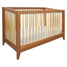 Davinci Highland 4-in-1 Convertible Crib With Toddler Rail - Chestnut