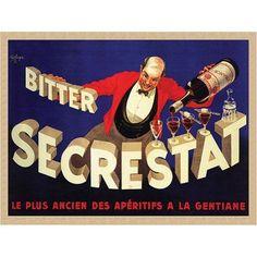 Trademark Fine Art Bitter Secrestat Canvas Art by Robert Wolfe, 35x47, Multicolor