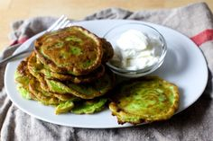 swiss chard pancakes | smitten kitchen | Bloglovin'