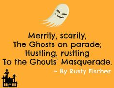 Trick or Treat: 101 Haunting Halloween Rhymes, an Ebook by Rusty Fischer Halloween Rhymes, Halloween Poems, Halloween Projects, Halloween Kids, Happy Halloween, Pumpkin Poem, Holiday Poems, Holiday Festival, Ghosts