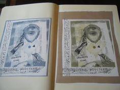 from art journal class with Jill Cardinal. Oregon Art Supply