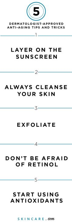 When it comes to aging skin, a good anti-aging skin care routine that combats premature signs of aging, like dark spots, wrinkles, fine lines, and dry— read: dull— skin, is the secret to aging gracefully. From a sunscreen that can protect your skin from the skin damaging effects of the sun's rays to cleansing to exfoliating and using our favorite anti-aging ingredient (retinol), we share our 5 best anti-aging tips here.   Powered by L'Oréal