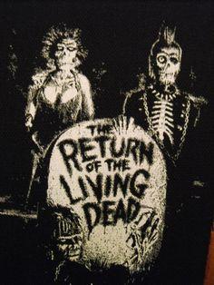 Rückkehr der lebenden Toten Patch-Horrorpunk von LordOfTheLeftHand