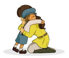 Awwwwwww, Emmy and Luke share a tearful hug. They may pest each other a lot, but they really do care for each other.