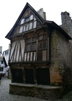 While you can buy this 15th century building for just 42 000 euros, it will require much more money for repairs and restoration.
