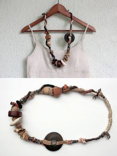 Statement chunky necklace, by rRradionica