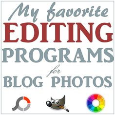 My Fav Free Photo Editing Software for Blogs: A review of Photoscape, Gimp, Raw Therapy | Let's Drink Coffee, Darling