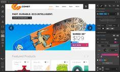 Webflow is the top drag-and-drop website builder for designing custom, professional websites without code. Design Web, Web Design Tools, Web Design Tutorials, Tool Design, Webdesign Layouts, Build Your Own Website, Simple Website, Drag, Responsive Web Design