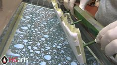 Water Transfer Printing | Phone Cases - Blue Water Drops (HGA-D7503) | H...