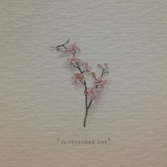 Paintings for Ants — Day 360 : Orchid. 19 x 30 mm. Paintings for Ants — Day 360 : Orchid. 19 x 30 mm. Orchid Flower Tattoos, Small Flower Tattoos, Small Tattoos, Girly Tattoos, Watercolor Orchid Tattoo, Orchid Drawing, Red Ink Tattoos, Side Tattoos, Wrist Tattoos