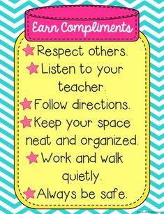 Compliment Jar {Classroom Incentive & Craftivity}