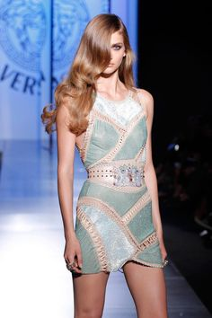 Desfile Versace.