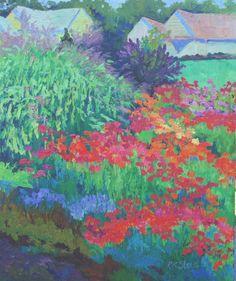 Zinnia Garden -- Roxanne Steed
