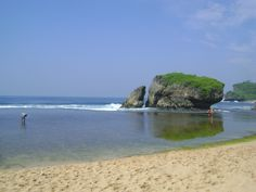 """This beach Called """"Pantai Kukup"""" in my Country Yogyakarta, Indonesia. Lovely place to go with your love ones.  #beach #indonesia #holiday #travel #traveling"""