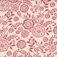 Bedgown fabric from an 18th century quilt - French General.