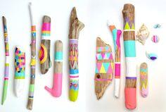 Palos Pintados: Llena Tu Casa de Color de Forma Fácil y Sencilla | Ideas Decoradores