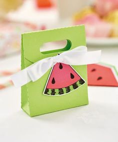 My makes for June Issue of Crafts Beautiful - Watermelon Party Set Part 2
