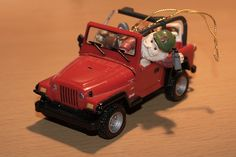 Enesco Jeep Wrangler Christmas Tree Ornament by fortfan, via Flickr