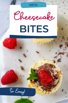 Keto Cheesecake Bites are a fun and refreshing treat that is creamy, rich, and so satisfying. With just six ingredients, these little nibbles are so easy to make. This recipe is one of those recipes where the payoff in flavor is disproportionate to the work involved. Best Low Carb Snacks, Low Carb Desserts, Keto Snacks, Low Carb Recipes, Dessert Recipes, Low Carb Meal Plan, On The Go Snacks, Cheesecake Bites, Keto Diet For Beginners