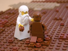 Brick Bible, the old testament stories shown with legos. Great way to get kids to know the stories!