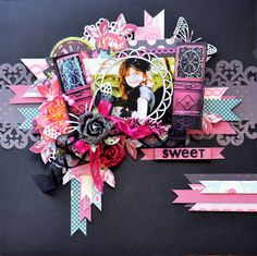 Scrappin For Me: Prima Rosarian - Guest DT - Sassy Scrappers Prima Marketing, Wooden Doors, Scrapbooking Layouts, Altered Art, Sassy, Card Making, Paper Crafts, Crochet, Sweet