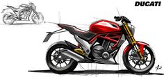 Motorcycle design sketches on Behance