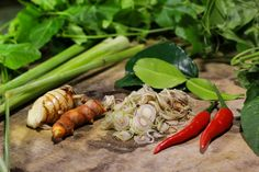 The secret #ingredients of #Cambodian #cuisine are #chili, lemon grass, kaffir lime leaves, galanga, and turmeric. These ingredients are used to make Samlor Korko. It is great with #pumpkin, green papaya, with fish for a nutritious Khmer #soup. The wonderful aromatic smell of cooked fermented fish, lemon grass, and ground cooked dry rice comes from the kitchen. (Photo: 2015 Chetra Ten/World Vision)