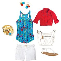 Spring Floral, created by hmdepeuter on Polyvore