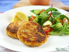 Tasty homemade tuna cakes that are great for lunch or dinner.