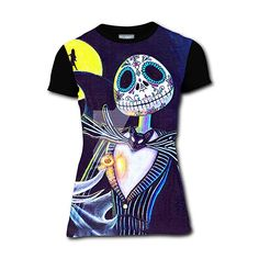 The Nightmare Before Christmas /'Simply Meant To Be/' Girlie T shirt NEW womens