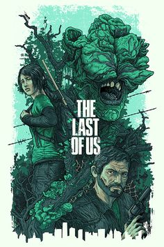 The Last of Us Illustrations by Alexander Iaccarino, via Behance