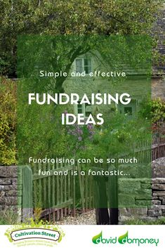 Fundraising can be so much fun and is a fantastic way to help raise a little extra cash to develop and support your garden project. Front Gardens, Extra Cash, Garden Projects, Over The Years, Fundraising, Britain, The Neighbourhood, Competition, Community