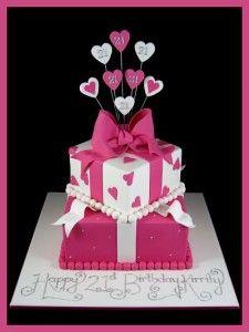 Strange 9 Best Present Birthday Cakes Images Present Cake Birthday Funny Birthday Cards Online Chimdamsfinfo