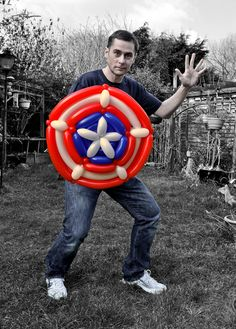 My Daily Balloon: 15th March - Captain America's Shield