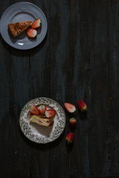 Yogurt, lemon and strawberry cake www.chocolateSalt... by Tal Sivan-Ziporin