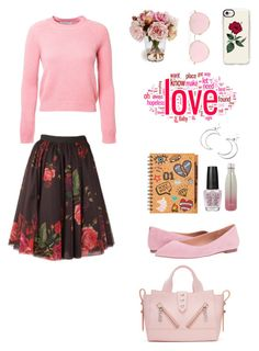 """""""Untitled #219"""" by xolafkax on Polyvore featuring Alexandra Golovanoff, Sam Edelman, Casetify, LMNT, S'well, Ana Accessories and Kenzo"""