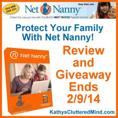 Kathys Cluttered Mind: Net Nanny Review and Giveaway