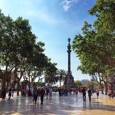Columbus Monument - Barcelona, Spain
