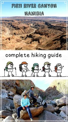 Ultimat guide to hike Fish River canyon, Namibia, the toughest hike in Africa. Travel in Africa.