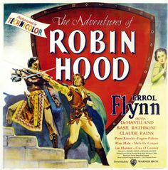 Errol Flynn, Olivia de Havilland, Basil Rathbone, Claude Rains, Alan Hale, Eugene Pallette, Patric Knowles, Melville Cooper, Una O'Connor, Herbert Mundin and Ian Hunter all give outstanding performances in this classic filled with action, humor and romance.