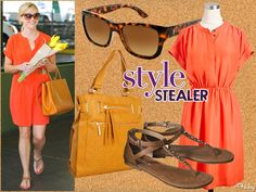 Style Stealer: Reese Witherspoon's Sunny Shopping Ensemble