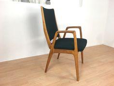 Vintage Stühle - toller Stuhl mit Armlehnen *Mid Century - ein Designerstück von Mid-Century-Frankfurt bei DaWanda