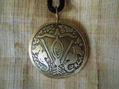 Pingente Logun Ede - Pingente Orixás - Medalha Orixá - R$ 30,00