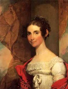 1823 Gilbert Stuart (1755-1828). Elizabeth Porter Wheeler.